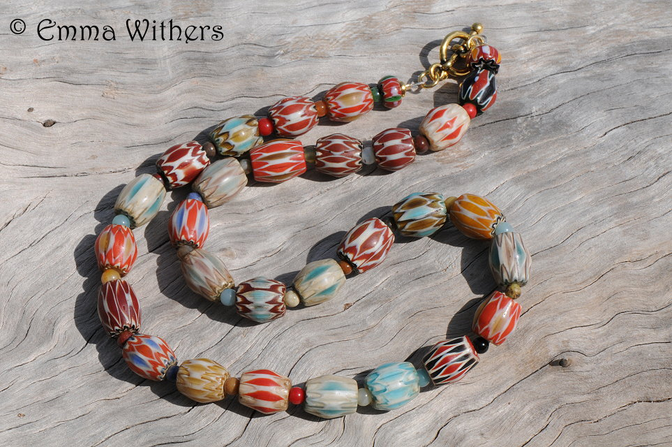 Jewellery & Gifts - African Ceramic Necklace